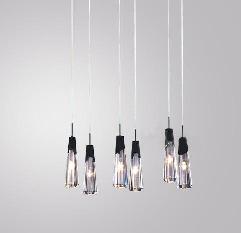 Italian Modern Stylish K9 Crystal Chandelier Dining Room Living ...