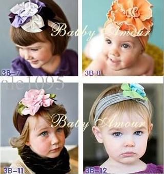 Clothing, Shoes & Accessories 100% True Cute Baby Headband Newborn Infant Toddler Girl Flower Hair Accessories Traveling