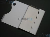 Wholesale Name Id Card - ALUMINUM Business Credit ID Card Case Name Card Holder Bank Card Box Bag with white retail box