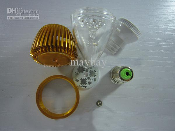 Delightful 2018 3w Led Candle Lamp Bulb Accessory / Diy Led Lamp Parts Kit E14 From  Maybay, $17.91 | Dhgate.Com