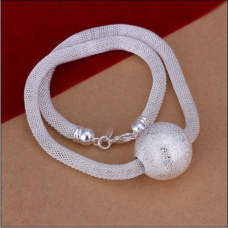 Arbeiten Sie Schmucksachen 925 Silbermaracas-Halskette hochwertige freies Verschiffen 10pcs / lot um