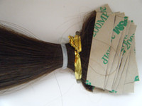 """Wholesale body skin glue - 24"""" 24inch #2 100gram Glue Skin Weft Hair Extension 100% Indian Remy Human hair AAA Grade 027"""