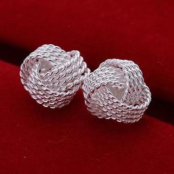 925 Silber überzog Ohrringe des Art und Weisemischungs 28 Art / Ohrring / Bolzen / hängendes Anhängerbestes Geschenk