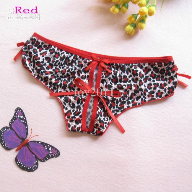 5 stücke los Mode Schöne Leopard Sexy unterwäsche Sexy tanga, Nettes mädchen unterwäsche Sexy höschen 926 #