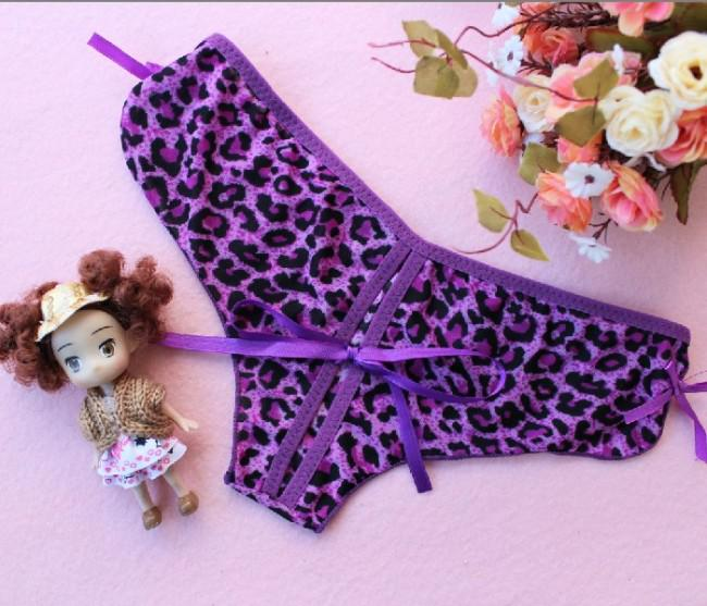 mode beau léopard sous-vêtements sexy string sexy, sous-vêtements fille mignonne culotte sexy 926 #