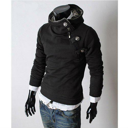 Mens Fashion Fleece Jackets