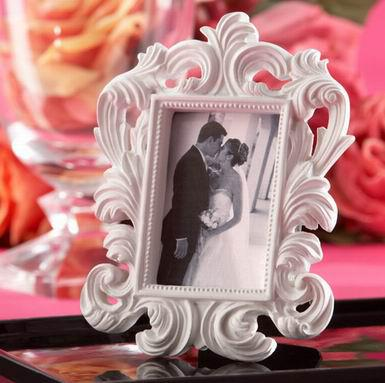 """Black Baroque"" Elegant Place Card Holder Photo Frame wedding/party favors place photo frame"