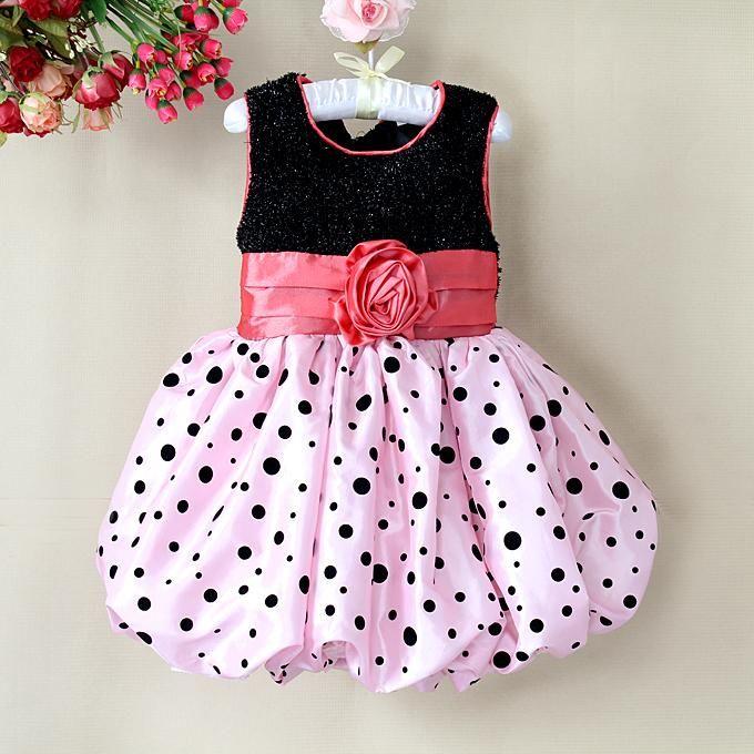 Online Cheap Designer 2012 Girl Dresses Pink Toddler