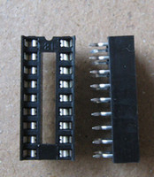 Wholesale Circuit Toy - 16p IC wide-body chip base integrated circuit socket DIP-16 30pcs