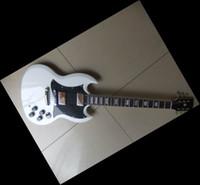 Wholesale White Guitar Black Hardware - China Guitar white sg custom chrome hardware electric guitar free shipping 2011 08 13