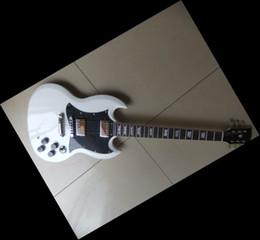 Wholesale Sg Black - China Guitar white sg custom chrome hardware electric guitar free shipping 2011 08 13