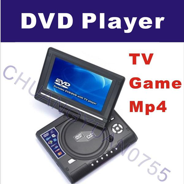 7 inch home portable dvd player tv game usb mp4 latest dvd top dvd from long1984 59 3 dhgate com. Black Bedroom Furniture Sets. Home Design Ideas