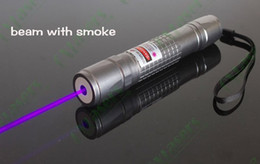 Wholesale Green Laser Watt - 1000m Watt 405nm high powered Green  red violet blue laser pointers  UV Purple laser burning black match cigarettes & counterfeit detector