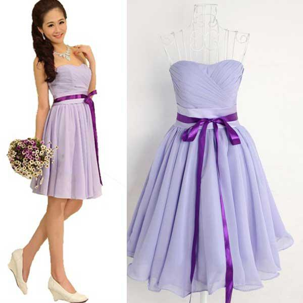 New Latest Bridal Bridesmaid Dresstube Dress Dinner Dress Prom Dress ...