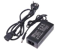 bandes de lumière prises par entrée 12v achat en gros de-12V 5A 60W Adaptateur secteur à mode de commutation avec entrée de câble AC de 100 mètres à 1,2 mètre pour 3528 5050 5630 barrette lumineuse à LED