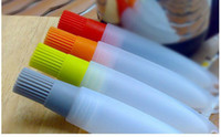 canetas de bolo venda por atacado-Varredura de óleo com tubo, decoração do bolo, manteiga caneta escovas, ferramentas de bolo, ferramentas de pastelaria, bom ajudante para bolo