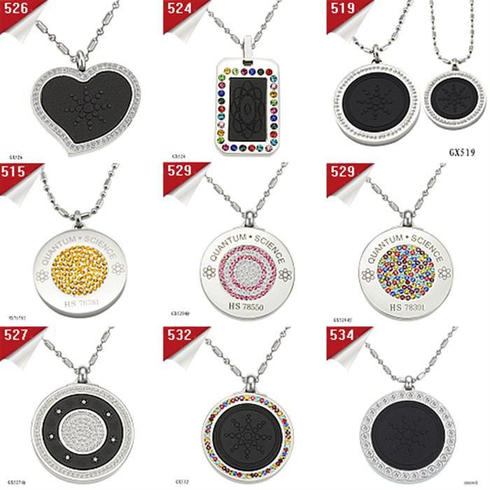 Free shipping 925 jewelry fashion necklace wholesale 925 silver mix order free shipping fashion health necklace quantum pendant basalt iava scalar energy with authenticity card christmas gift mozeypictures Images