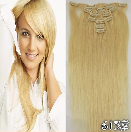 Cheap 22 100gfull head remy clip in human hair extension black see larger image pmusecretfo Choice Image