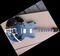 Wholesale Es Semi Hollow - Best China guitar Custom Shop ES series Electric Guitar with OEM Musical Instruments 110305-07