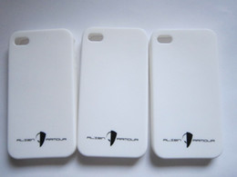 Wholesale Cheap White Cell Phone Cases - 500pcs cheap silicone covers for cell phone 5G soft 5S silicone cases EG-IPC511 with customized text & logo