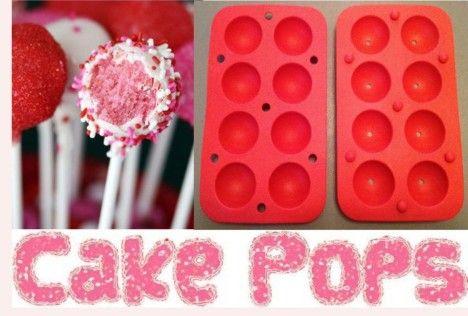 シリコーンケーキポップ型/金型ベーキングトレイ誕生日パーティーチョコレート型ケーキ型セット+スティック