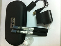 Wholesale Ego Ce6 Case - EGO-CE4 E cigarette 900mah 1100mah ego battery and CE4 atomizer with ego bag case ce4 ce6 cartomizer