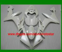 Wholesale Custom Sales Kits - Sale pearl white custom fairing kit FOR 2004 2005 2006 YZF R1 YZFR1 04 05 06 YZF-R1 04-06 YZF1000