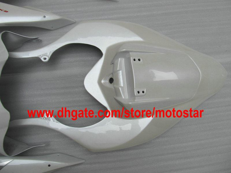 Venda kit de carenagem personalizado branco pérola FOR 2004 2005 2006 YZF R1 YZFR1 04 05 06 YZF-R1 04-06 YZF1000