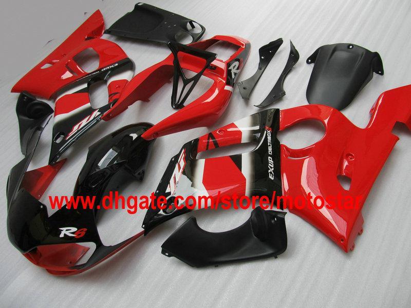 Custom Fairing Kit för Yamaha YZF R6 1998 1999 2000 2001 2002 YZF600 YZF-R6 YZFR6 98 99 00 01 02