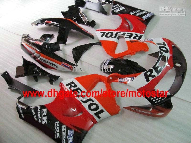 Repsol ABS Fairing Kit för Honda CBR900RR 893 1995 1996 1997 CBR900 893RR CBR893 95 96 97 CBR893RR