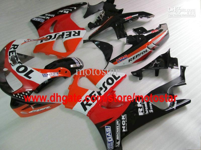 REPSOL ABS fairing kit for HONDA CBR900RR 893 1995 1996 1997 CBR900 893RR CBR893 95 96 97 CBR893RR