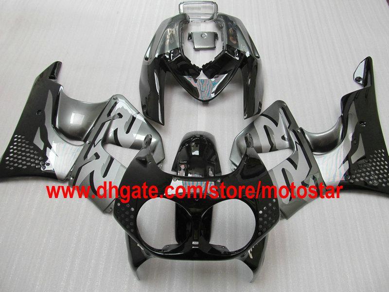 Black Grey Fairing Kit voor HONDA CBR900RR 893 1992 1993 1994 CBR900 893RR CBR893 92 93 94 CBR893RR
