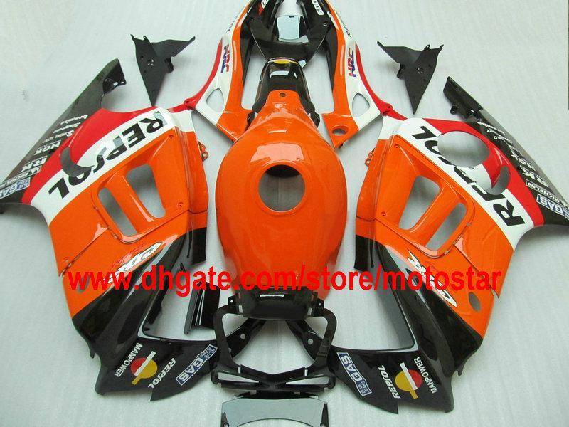 Passen Sie REPSOL Thema Karosserie Verkleidungskit für 1995 1996 HONDA CBR600F3 CBR600 F3 CBR 600 F3 95 96 Verkleidungen Kit