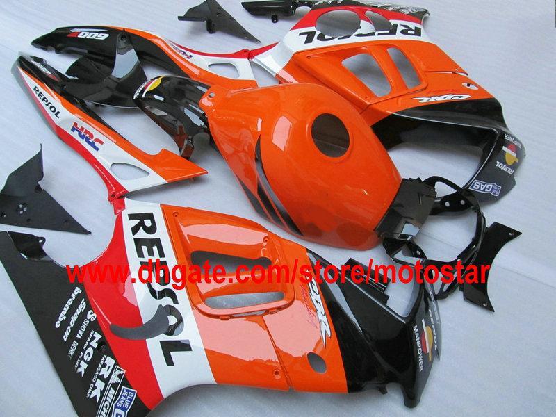 Personalizar o kit de carenagem para carroceria do tema REPSOL para 1995 1996 HONDA CBR600F3 CBR600 F3 CBR 600 F3 95 96 kit de carenagens