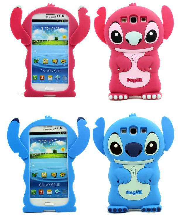 Lovely Stitch Housse En Silicone 3D Pour Samsung Galaxy S3 III I9300.With Sac En Plastique Livraison Gratuite Proposé Par Babyzeng, 3,57 € | ...