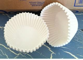 Baking Liners White Standard/ Baking Cups 500ct muffin/cupcake/liner/candy cups
