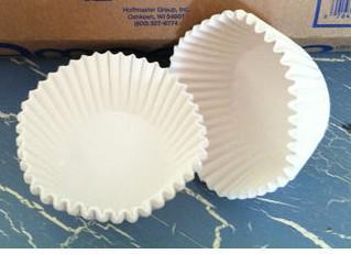 Pişirme Gömlekleri Beyaz Standart / Pişirme Bardakları 500ct muffin / cupcake / liner / candy cups