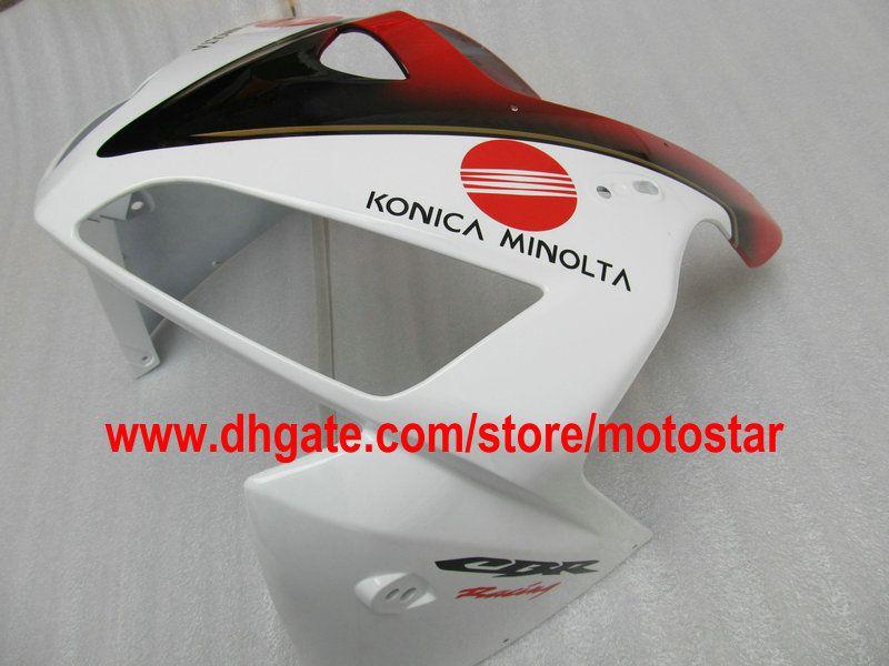 Carenado completo ABS blanco rojo conjunto carenados PARA CBR600RR F5 2005 2006 CBR 600 RR 05 06 CBR600 600RR kits de carenado