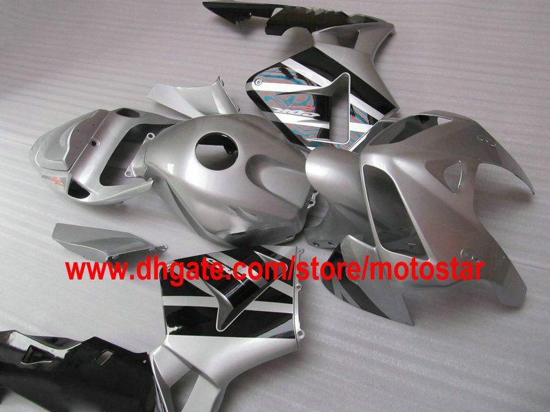 silver black ABS Injection molded full set fairing kit FOR CBR600RR F5 2005 2006 CBR 600 RR 05 06