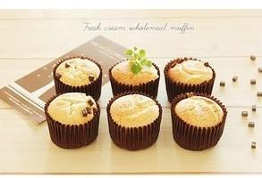 Öppna storlek 4 cm Brödkoppar Brown Papper Cupcake Muffin Choclate Baking Liner