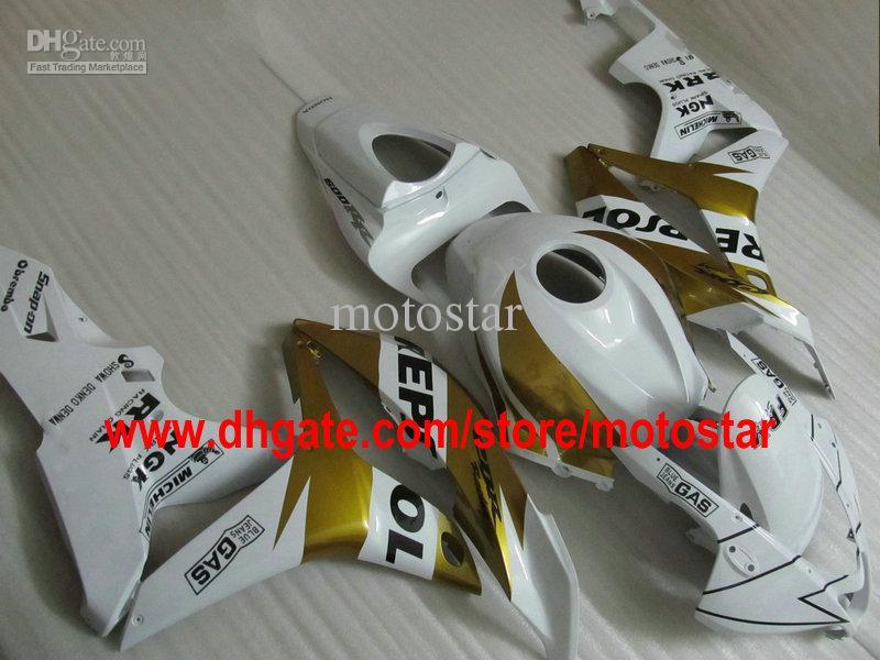 REPSOL Injection molded bodywork fairing kit FOR CBR600RR F5 2007 2008 CBR 600 RR 07 08 Customizable