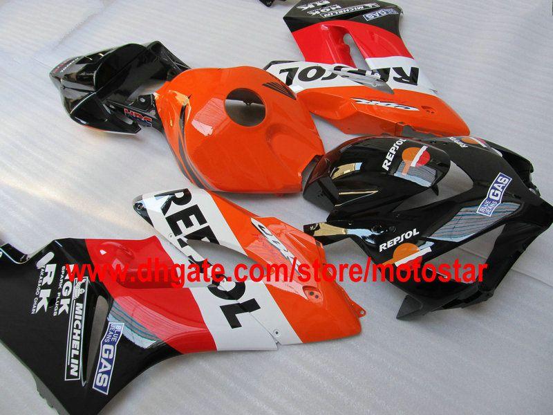 REPSOL carenagens de injeção de carroçaria para HONDA CBR1000RR 2004 2005 CBR1000 RR 04 05 CBR 1000 kits de carenagem de motocicleta