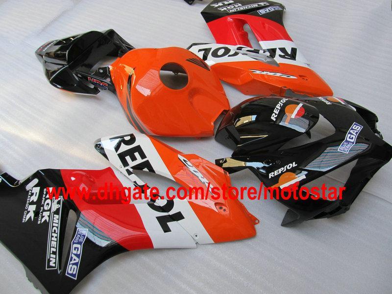 Repsol fairings fairings body لهوندا CBR1000RR 2004 2005 CBR1000 RR 04 05 CBR 1000 دراجة نارية