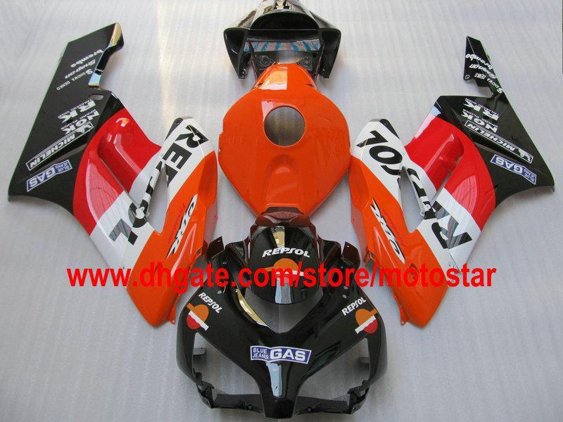 Repsol Injektion Bodywork Fairings för Honda CBR1000RR 2004 2005 CBR1000 RR 04 05 CBR 1000 Motorcykel Fairing Kit