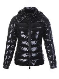 Wholesale Cheap Down Jacket Women - Cheap Women down Jackets Super bright waterproof fabric detachable hoodie soft warm free shipping