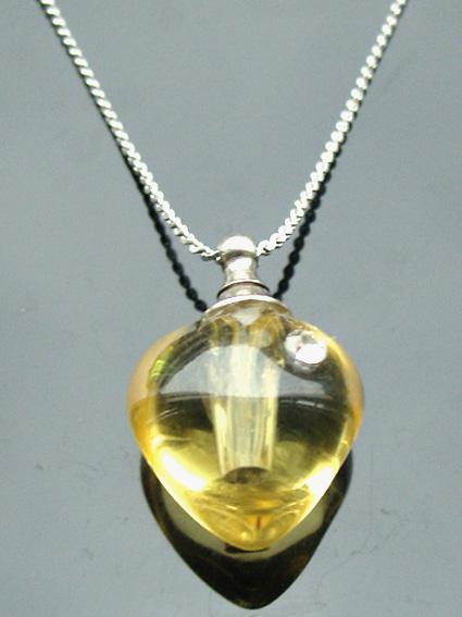 Aromatherapy Pendants fragrance vials perfume necklace vials essential oil bottle pendant