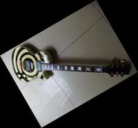 Wholesale New Arrival Electric Guitar Black - New Arrival Custom Signature Electric Guitar Cream Black gu11 0525-28