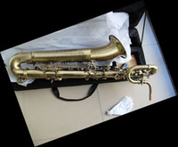 Brand NEW Top Quality Antique Baritone Saxophone Eb Bari Sax...