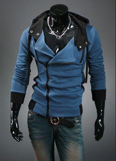 NUEVO suéter delgado Assassin's Creed style para hombre