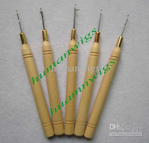 Neue Art- und Weisemikroringnadel, Nadel ziehend! Haarverlängerungswerkzeuge. 120 Einzelteile pro Los
